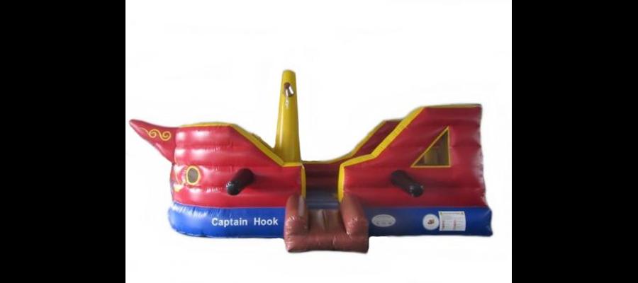 Hüpfburg Captain Hook - HUPFHUPF Luftburgverleih