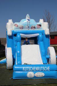 Hüpfburg Kutschenrutsche - HUPFHUPF Luftburgverleih