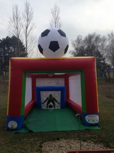 Hüpfburg Footballking- HUPFHUPF Luftburgverleih