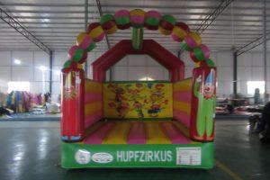 Hüpfburg Hupfzirkus - HUPFHUPF Luftburgverleih