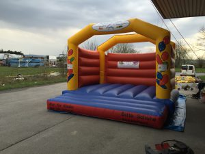 Hüpfburg Megaballon - HUPFHUPF Luftburgverleih