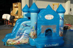Hüpfburg Kidstreff - HUPFHUPF Luftburgverleih