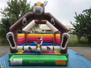 Hüpfburg Kleiner Esel - HUPFHUPF Luftburgverleih