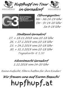 Hupfhupf on Tour in Gerasdorf