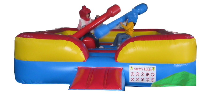 Aufblasbare Spiele Party Duell - HUPFHUPF Luftburgverleih
