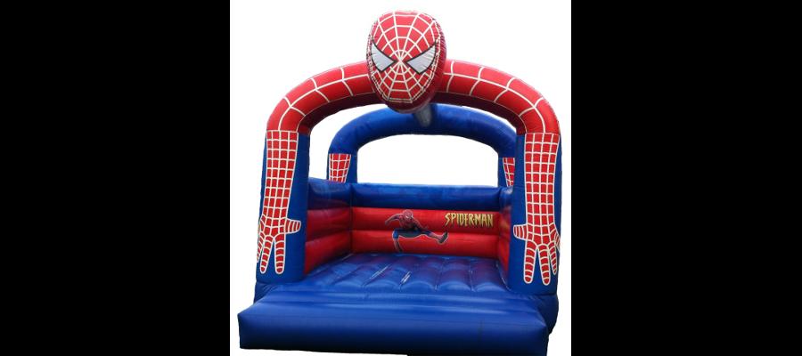Hüpfburg Spiderman - HUPFHUPF Luftburgverleih