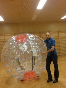Aufblasbare Spiele Liveball - HUPFHUPF Luftburgverleih