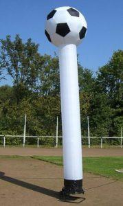 Skydancer Sky Fussball - HUPFHUPF Luftburgverleih