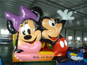 Hüpfburg Mickey & Minnie - HUPFHUPF Luftburgverleih