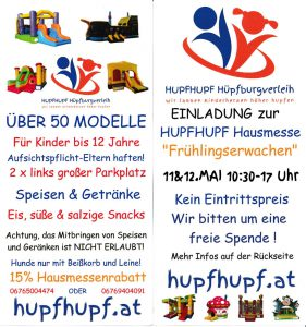 Hupfburgmesse Frühling 2019